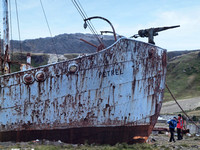 Abandoned Whale Chaser